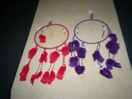 14 in. Suede Lace Dream Catchers