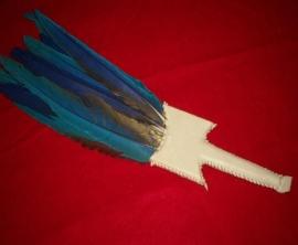 Macaw Feather Dance Fan