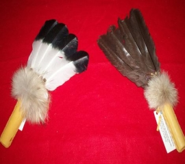 Small 4 feather fans