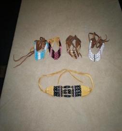 4 Tier Choker Bracelets