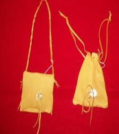 Deer Skin Medicine Bags