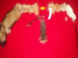 Red Fox dance stick