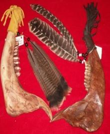 Buffalo Jaw Bone War Clubs