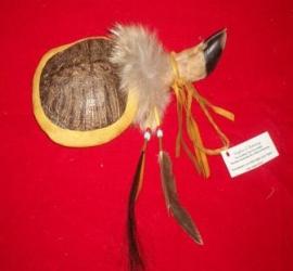 Ceremonial Turtle Rattle